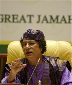 ghaddafi
